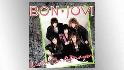 """Everybody needs a great song"": Jon Bon Jovi & Richie Sambora win prestigious UK songwriting award"