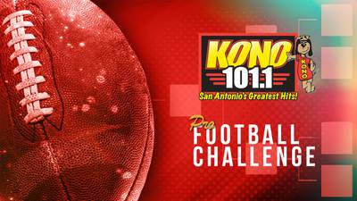 Make Your Pro Football Picks for a Chance at $50,000 with KONO 101.1!