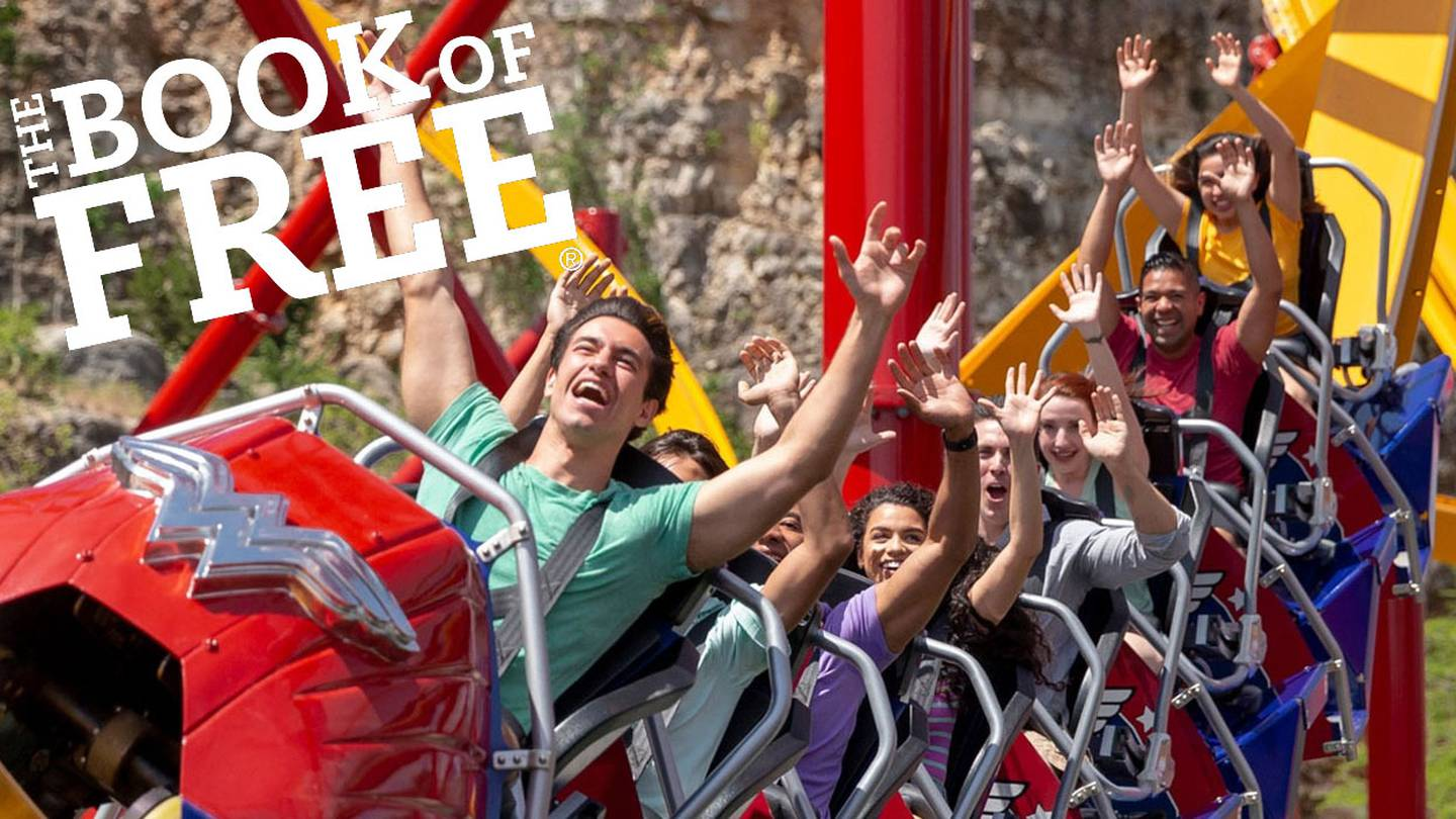 Win The Book of Free and Get 4 Tickets to Six Flags Fiesta Texas with Robin Flores in the Morning