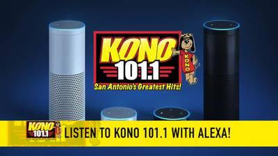 Listen to KONO 101.1 on Your Alexa Enabled Echo Device!